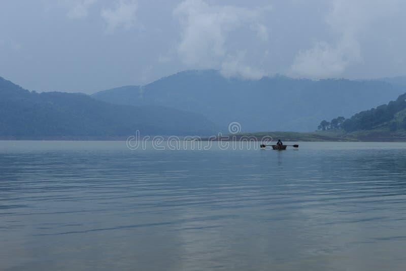 Λίμνη Umiam (λίμνη Barapani), Shillong, Meghalaya, Ινδία, Ασία στοκ φωτογραφία
