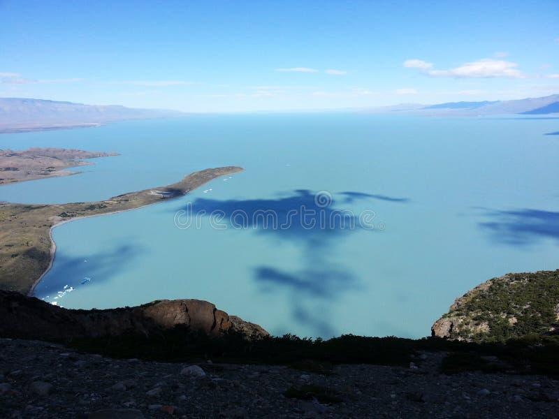 Λίμνη Viedma στοκ φωτογραφίες με δικαίωμα ελεύθερης χρήσης