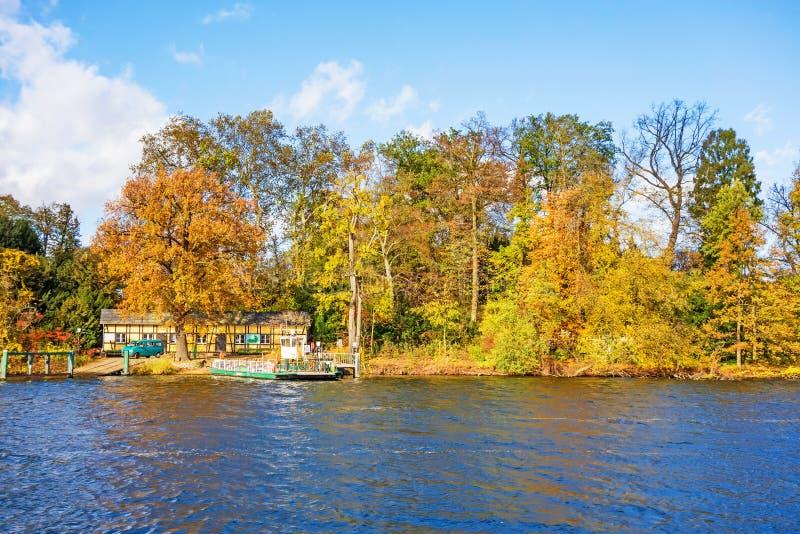 Λίμνη Wannsee, Pfaueninsel, Βερολίνο στοκ φωτογραφία με δικαίωμα ελεύθερης χρήσης