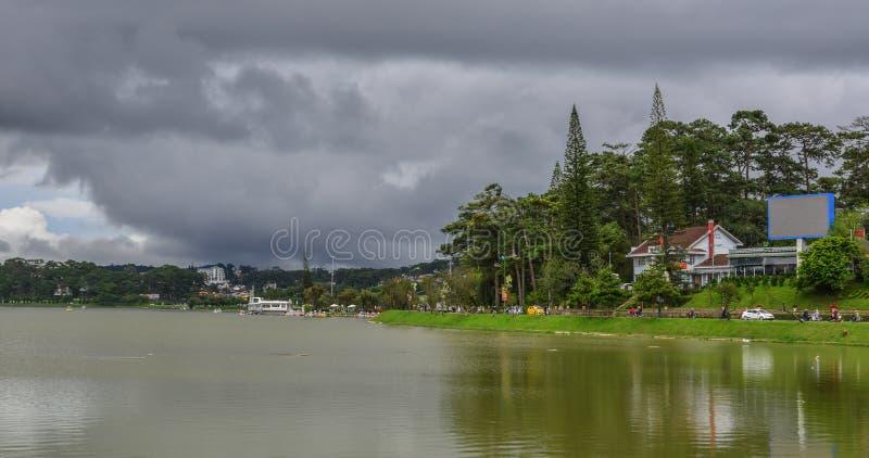 Λίμνη Xuan Huong σε Dalat, Βιετνάμ στοκ φωτογραφίες με δικαίωμα ελεύθερης χρήσης