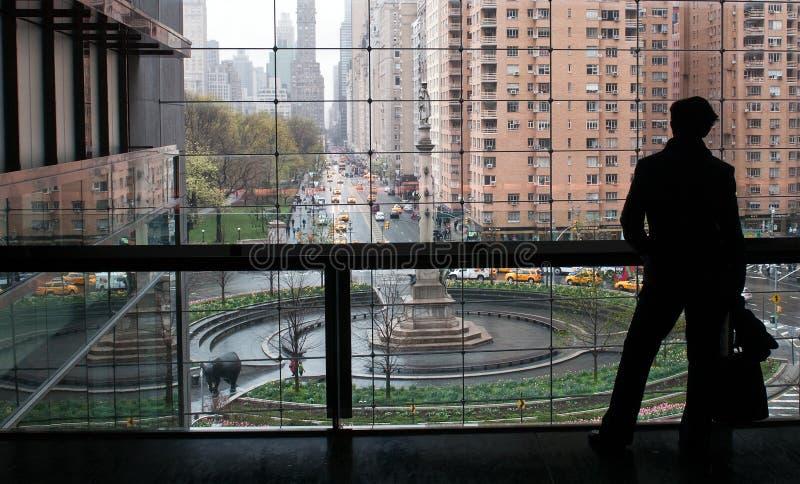 Λίνκολν που χτίζει το Μανχάταν, Νέα Υόρκη στοκ εικόνα με δικαίωμα ελεύθερης χρήσης