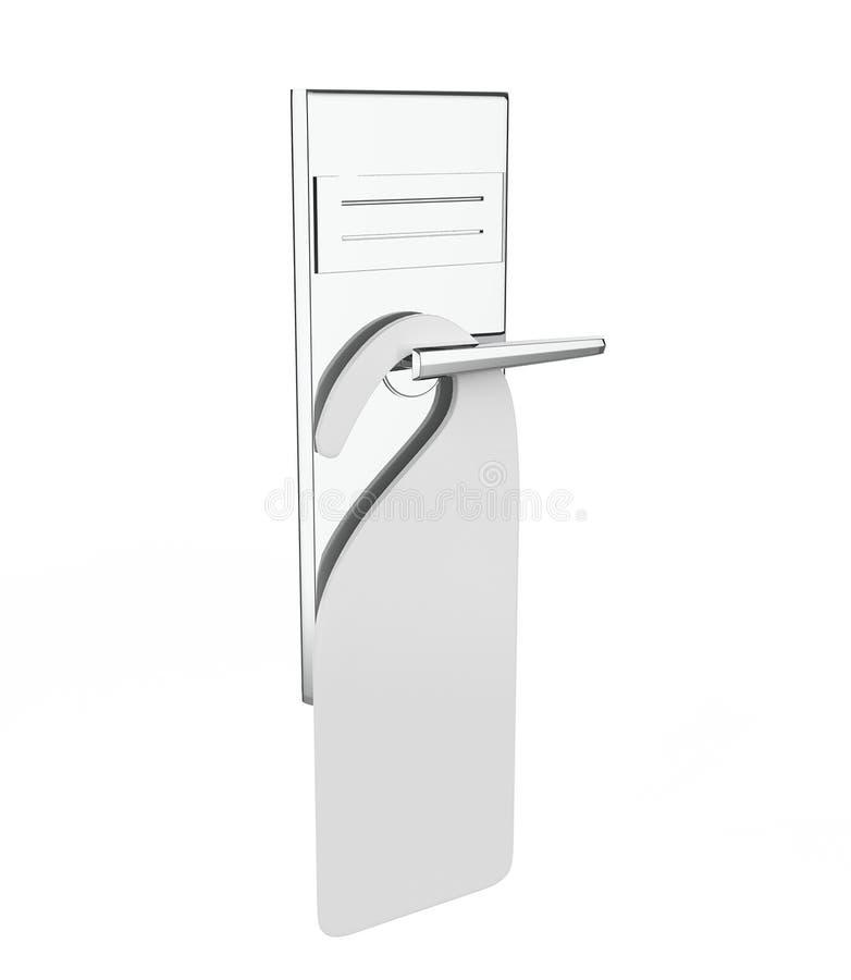 Λαβή της πόρτας διανυσματική απεικόνιση