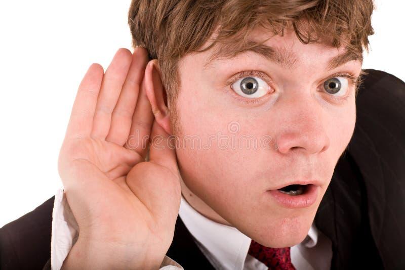 λαβή χεριών αυτιών επιχει&rh στοκ εικόνες