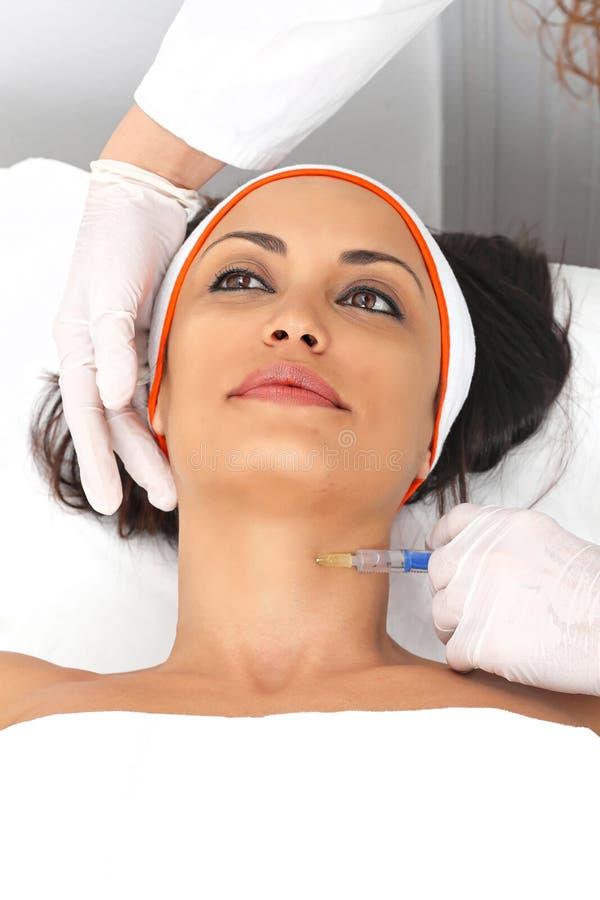 Λαιμός botox στοκ φωτογραφία με δικαίωμα ελεύθερης χρήσης