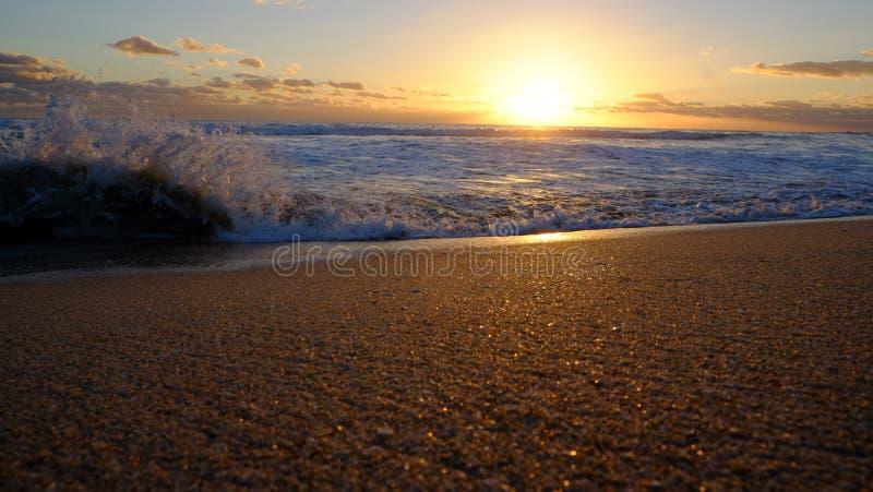 Λαμπιρίζοντας άμμος στοκ εικόνες
