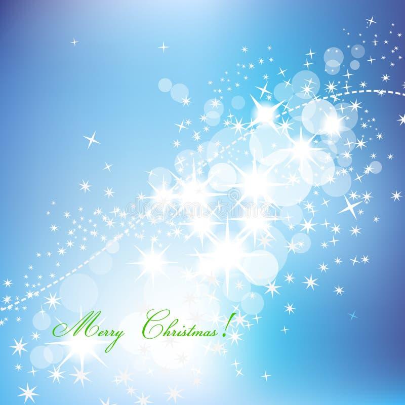 Λαμπιρίζοντας αφηρημένη ανασκόπηση Χριστουγέννων διανυσματική απεικόνιση