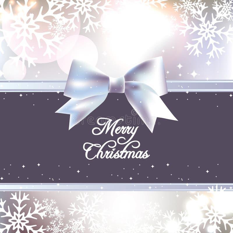 Λαμπρή αφηρημένη ανασκόπηση Χριστουγέννων ελεύθερη απεικόνιση δικαιώματος