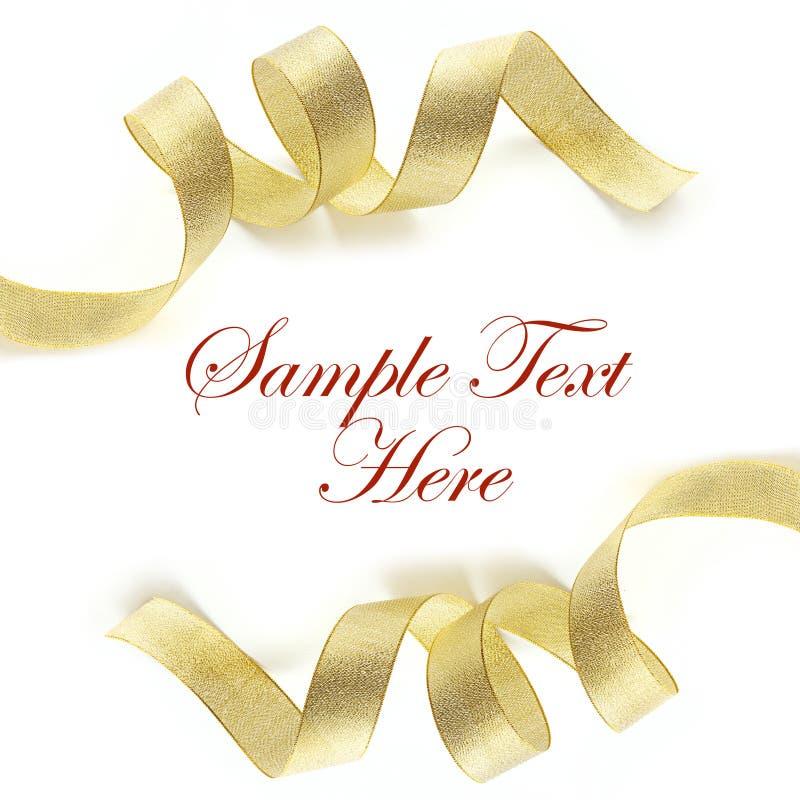 λαμπρό λευκό σατέν κορδε&la στοκ εικόνα με δικαίωμα ελεύθερης χρήσης