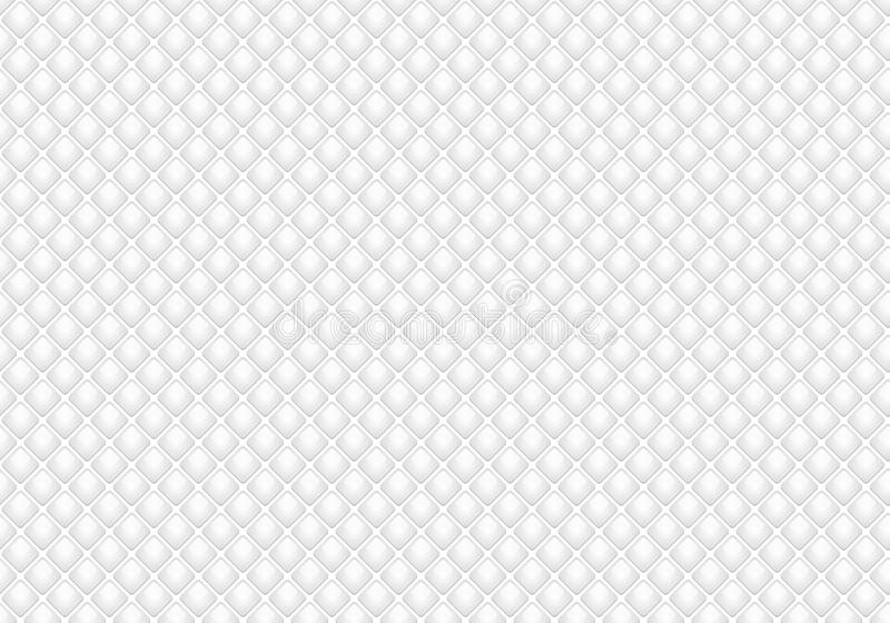 Λαμπρό στιλπνό άσπρο άνευ ραφής υπόβαθρο μωσαϊκών Αφηρημένη γεωμετρική σύσταση ύφους διαμαντιών για το σχέδιο, εργασία κάλυψης, τ διανυσματική απεικόνιση