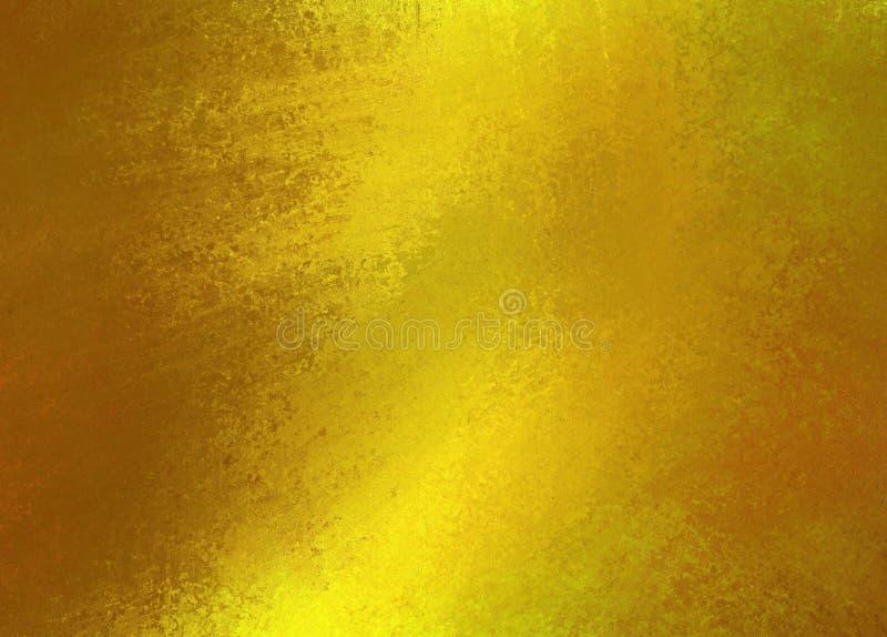 Λαμπρό χρυσό κατασκευασμένο υπόβαθρο στοκ εικόνες με δικαίωμα ελεύθερης χρήσης