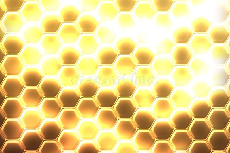 Hexagon υπόβαθρο στοκ φωτογραφίες με δικαίωμα ελεύθερης χρήσης