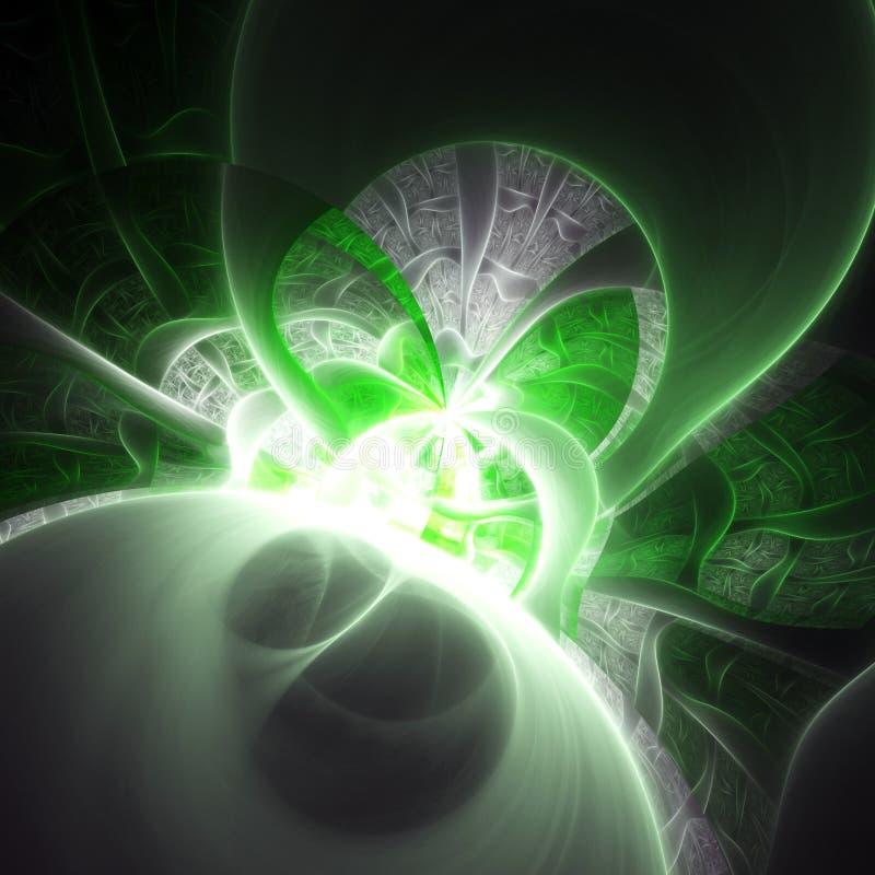 Λαμπρό fractal σχέδιο διανυσματική απεικόνιση