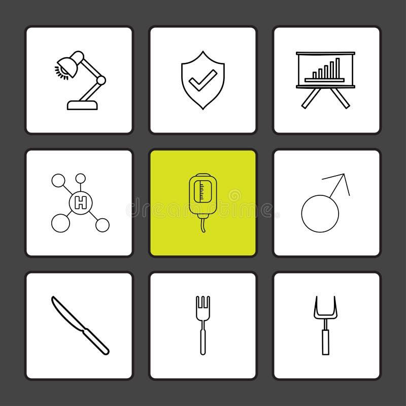 λαμπτήρας, ασπίδα, γραφική παράσταση, υδρογόνο, σταλαγματιά, αρσενικό, μαχαίρι, δίκρανο, απεικόνιση αποθεμάτων