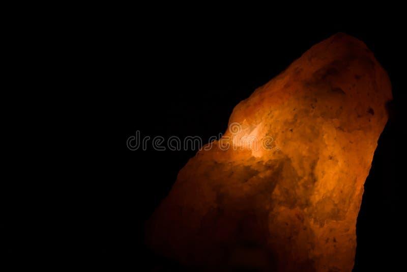 Λαμπτήρας Hymalayan του άλατος στοκ εικόνα με δικαίωμα ελεύθερης χρήσης