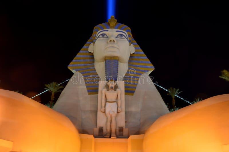 Λας Βέγκας, Νεβάδα, ΗΠΑ - 24 Ιανουαρίου 2015: Ξενοδοχείο & χαρτοπαικτική λέσχη Luxor στοκ φωτογραφία