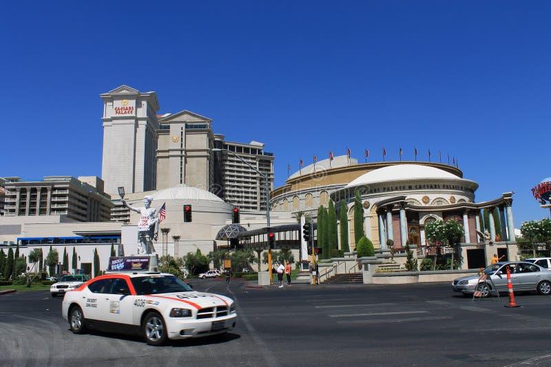 Λας Βέγκας - ξενοδοχείο και χαρτοπαικτική λέσχη του Caesars Palace στοκ φωτογραφίες με δικαίωμα ελεύθερης χρήσης