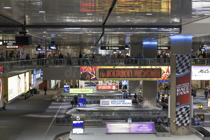 Διεθνής αερολιμένας McCarren στο Λας Βέγκας, NV στις 6 Μαρτίου 201 στοκ φωτογραφίες