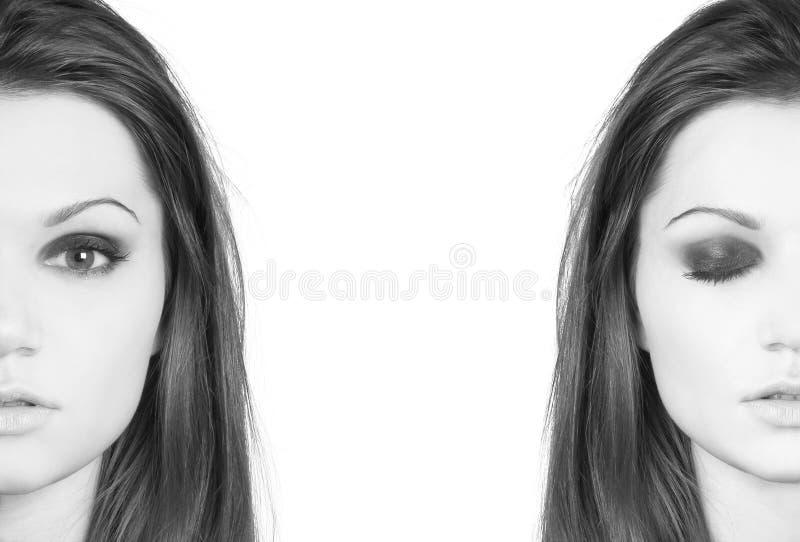 λατίνο πορτρέτο δύο νεολ&al στοκ φωτογραφία