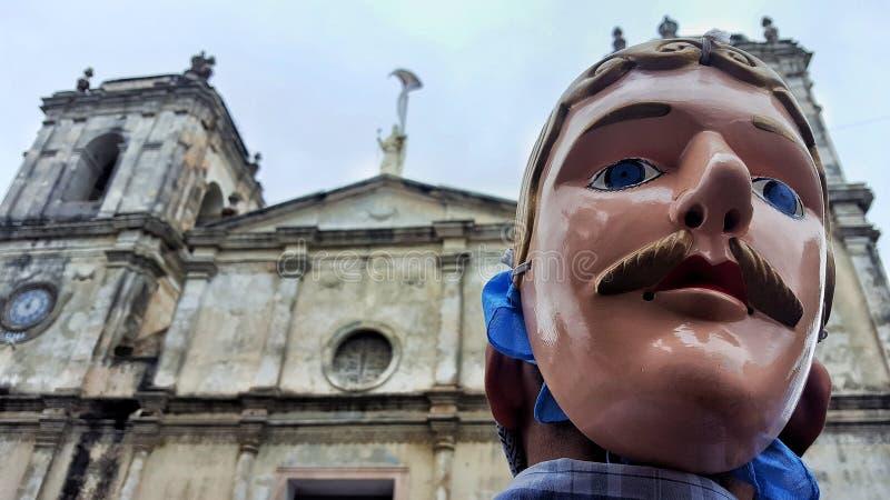 Λατινικός παραδοσιακός πολιτισμός της Νικαράγουας στοκ εικόνα με δικαίωμα ελεύθερης χρήσης