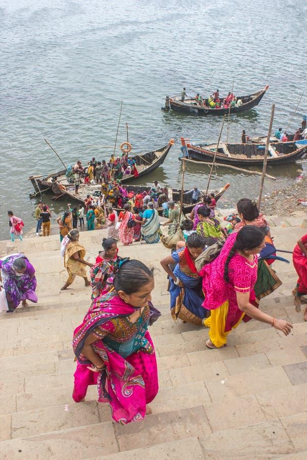 Λατρεία Narmada στοκ εικόνα