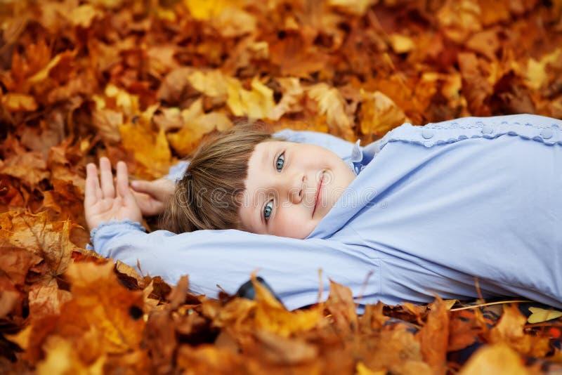Λατρευτό μικρό κορίτσι στοκ εικόνα