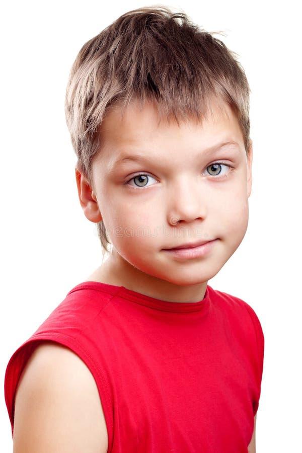 Λατρευτό παιδί με τα ξανθά μαλλιά στοκ εικόνα