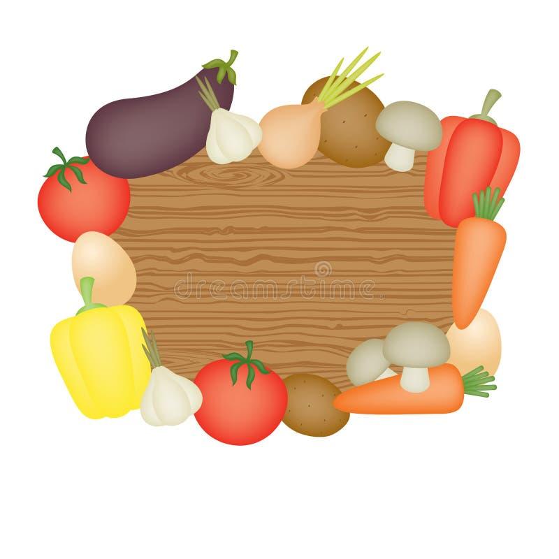 Download λαχανικά ανασκόπησης διανυσματική απεικόνιση. εικονογραφία από κήπος - 22785999