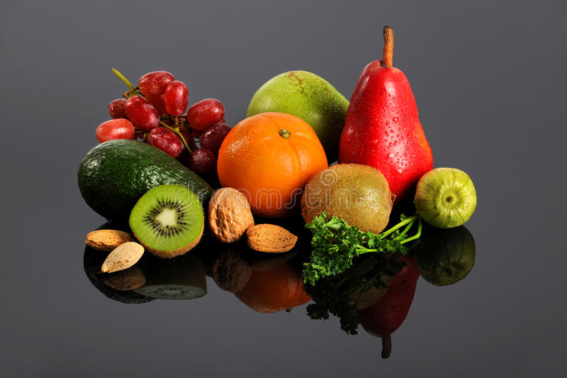 λαχανικά αντανάκλασης κ&alpha στοκ εικόνα με δικαίωμα ελεύθερης χρήσης