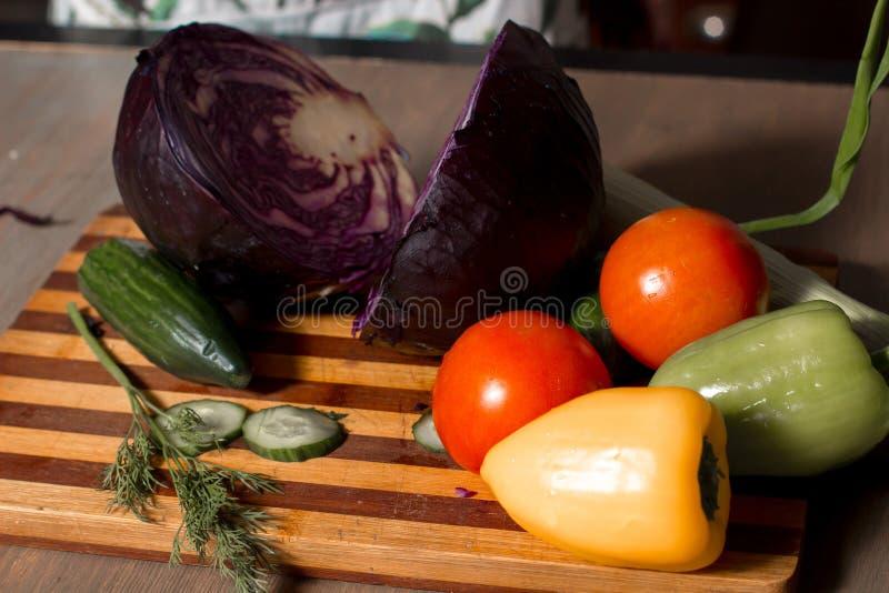 Λαχανικά εν πλω στοκ εικόνα