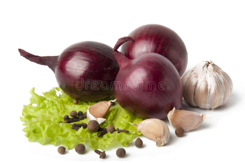 λαχανικά καρυκευμάτων σ&a στοκ εικόνες
