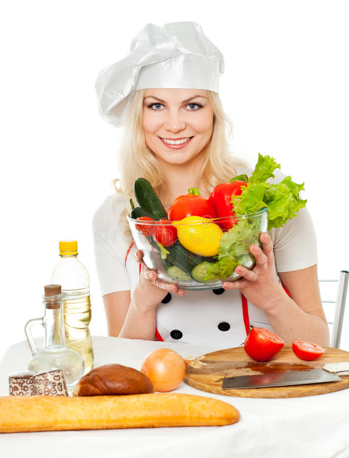 λαχανικά μαγείρων στοκ εικόνα