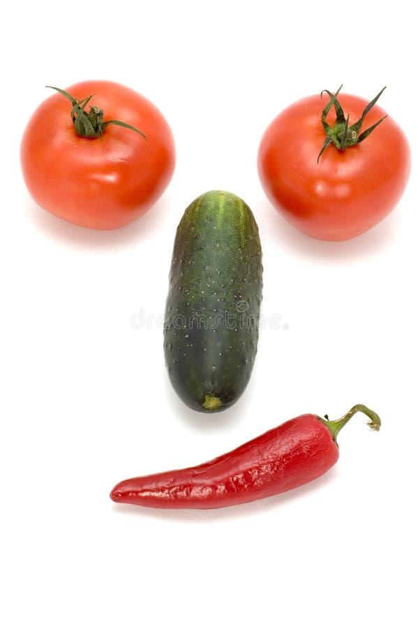 λαχανικά προσώπου στοκ φωτογραφίες