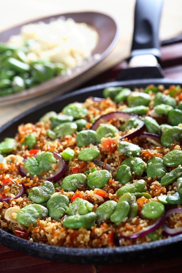 λαχανικά ρυζιού σιταριού στοκ εικόνα με δικαίωμα ελεύθερης χρήσης