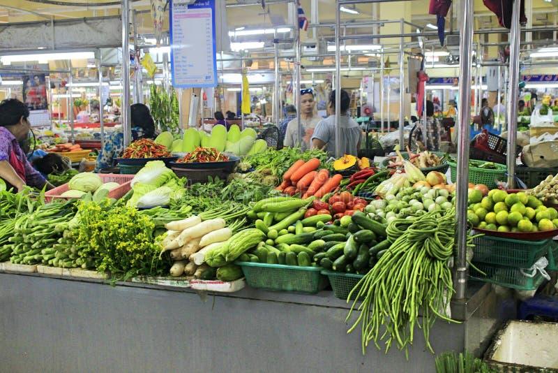 Λαχανικά στην αγορά τροφίμων Songkhla στην Ταϊλάνδη στοκ φωτογραφία με δικαίωμα ελεύθερης χρήσης