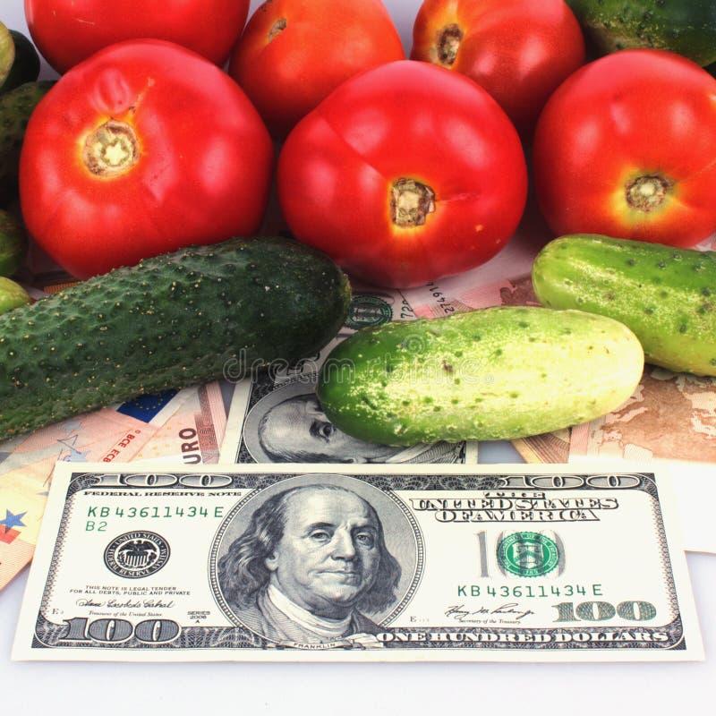 Λαχανικά ως σύμβολο της υγιούς κατανάλωσης και της καλής επιχείρησης στοκ φωτογραφία με δικαίωμα ελεύθερης χρήσης
