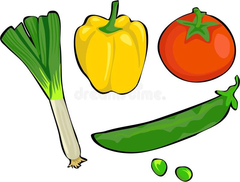 λαχανικά ελεύθερη απεικόνιση δικαιώματος