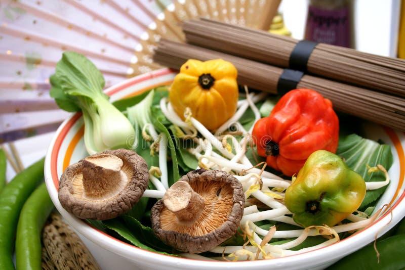 λαχανικά choi pak στοκ εικόνες