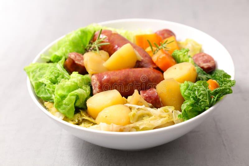 Λαχανικό και κρέας στοκ φωτογραφία με δικαίωμα ελεύθερης χρήσης