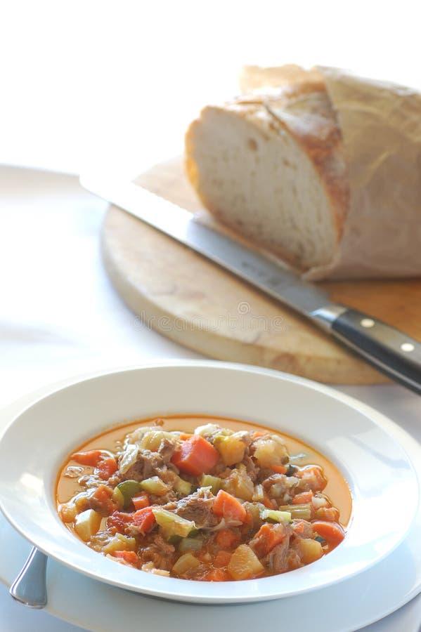 λαχανικό σούπας αρνιών στοκ φωτογραφία