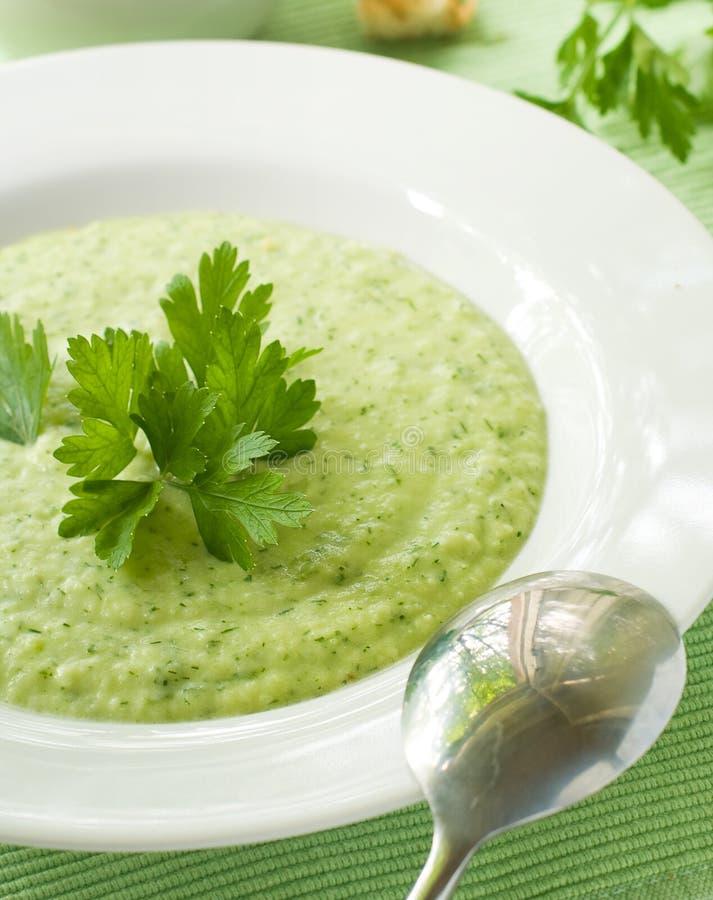λαχανικό σούπας ε στοκ εικόνα