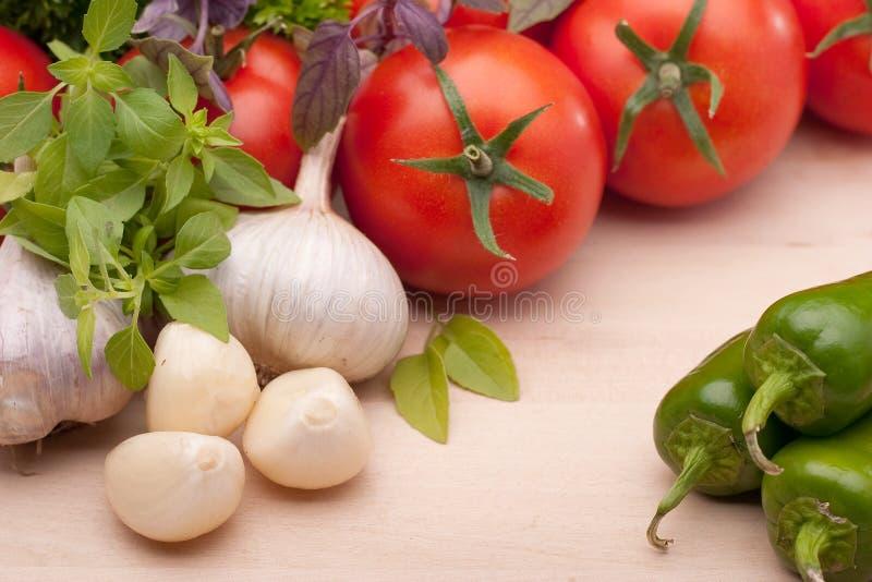 λαχανικό συστατικών στοκ εικόνες με δικαίωμα ελεύθερης χρήσης
