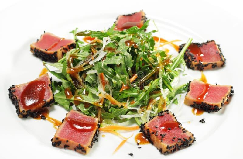 λαχανικό τόνου σαλάτας φύ&lamb στοκ εικόνα με δικαίωμα ελεύθερης χρήσης