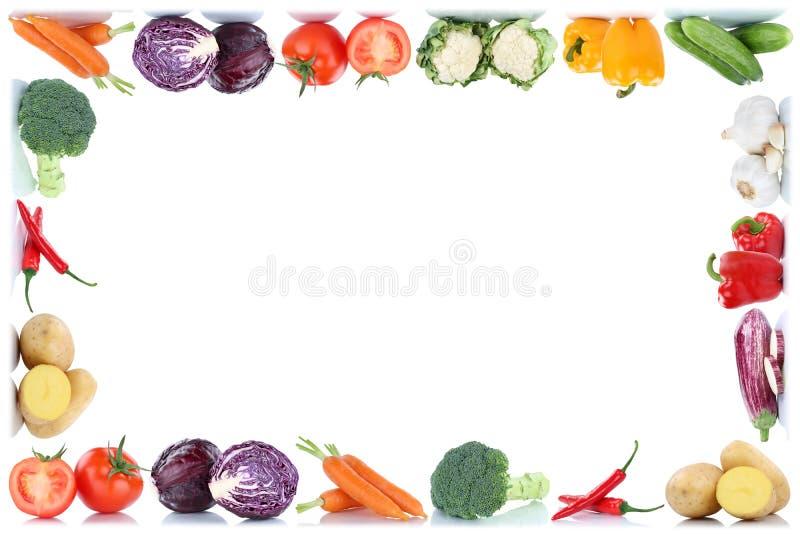 Λαχανικών καρότων φρέσκο κουδούνι π ντοματών πατατών τροφίμων φυτικό διανυσματική απεικόνιση