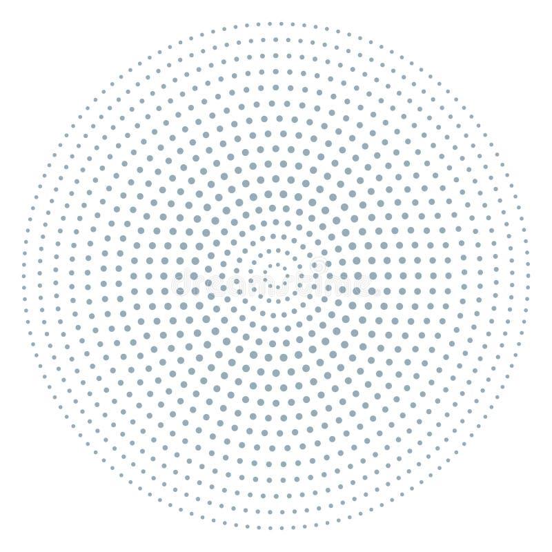 Λαϊκή σύσταση τέχνης για την αφίσα, ημίτονο σχέδιο με το σημείο και κύκλοι Στριμμένο grunge σχέδιο, υπόβαθρο σύστασης σημείων, κά ελεύθερη απεικόνιση δικαιώματος