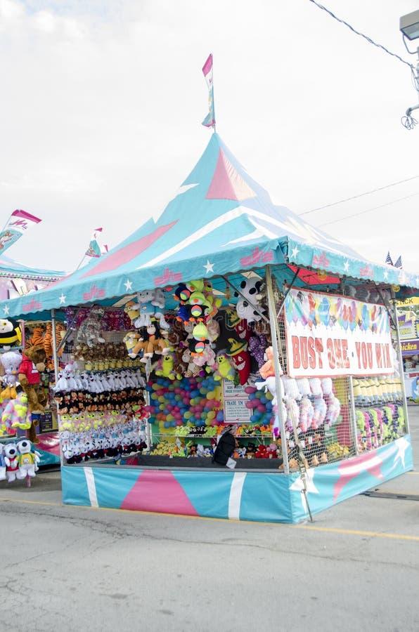 Λαϊκός θάλαμος κρατικών δίκαιος μπαλονιών της Οκλαχόμα στοκ φωτογραφία με δικαίωμα ελεύθερης χρήσης