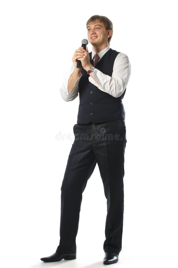 λαϊκός τραγουδιστής στοκ φωτογραφία με δικαίωμα ελεύθερης χρήσης