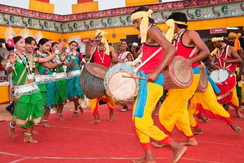 λαϊκός φυλετικός χορού στοκ εικόνες με δικαίωμα ελεύθερης χρήσης