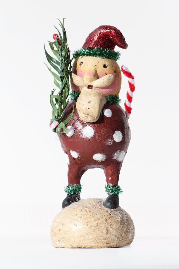 Λαϊκό Santa στοκ εικόνα