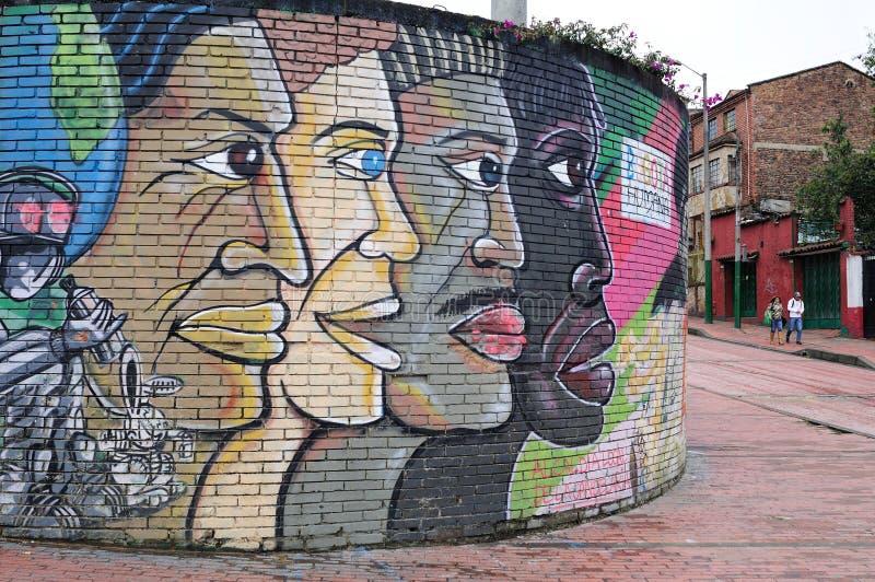 Λα της Μπογκοτά candelaria στοκ φωτογραφία με δικαίωμα ελεύθερης χρήσης