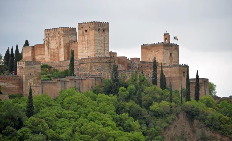 Λα Alhambre Γρενάδα στοκ φωτογραφία με δικαίωμα ελεύθερης χρήσης